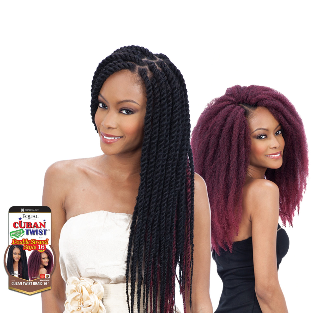 beautiful natural Hairstyles EQUAL Cuban Twist